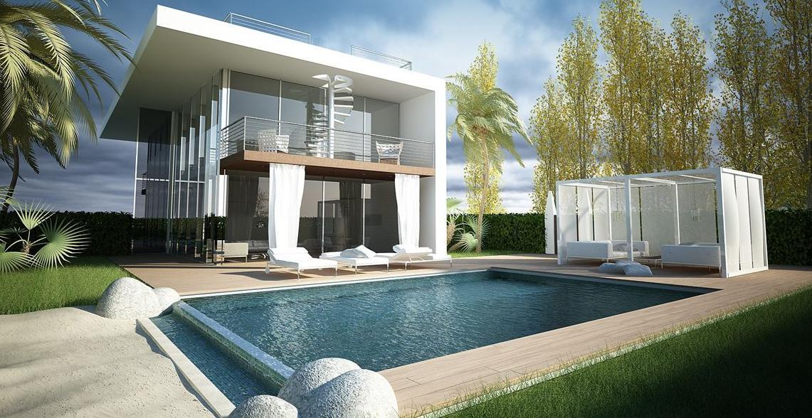 Progetto villa con piscina idee per la casa - Progetto villa con piscina ...